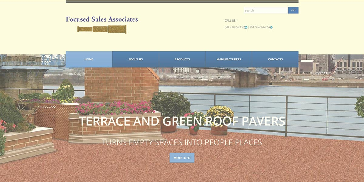 Focused_Sales Associates Home Page