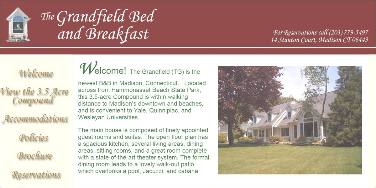 The Grandfield Bed & Breakfast