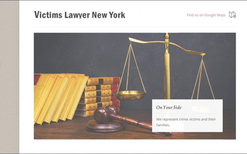 Victims Lawyer New York